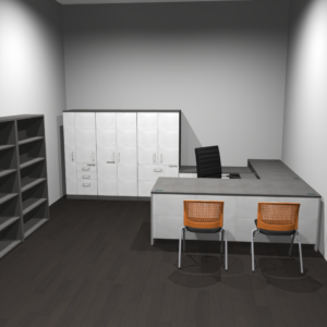 Project #7 - Owner's Office with Storage and Guest Seating