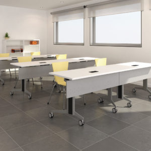 Genius Tables with Locking Castors