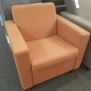 Fabric Lounge Chair - $195