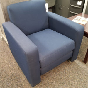 Blue Lounge Chair - $95